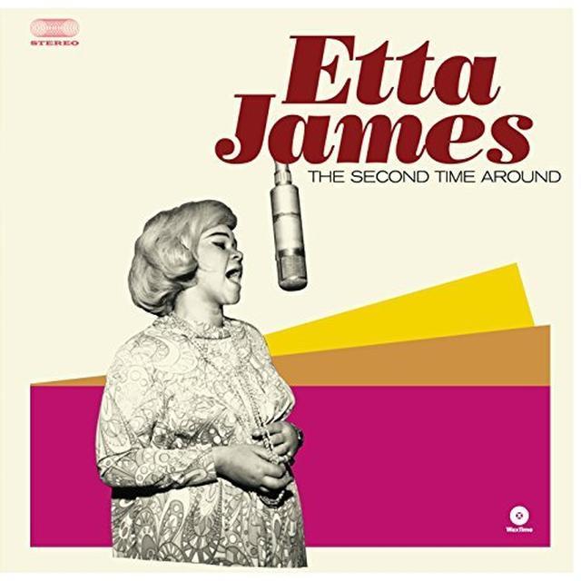 Etta James SECOND TIME AROUND Vinyl Record - Spain Import