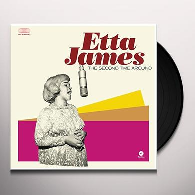 Etta James SECOND TIME AROUND Vinyl Record - Spain Release