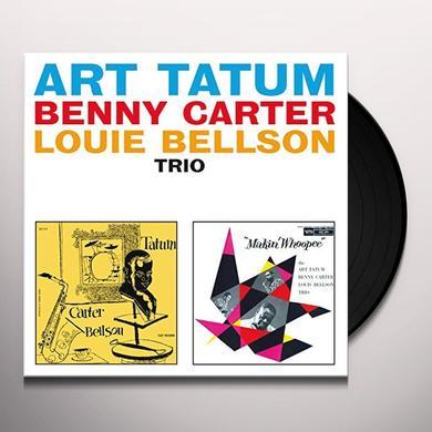 Art Tatum with Buddy DeFranco ART TATUM-BUDDY DE FRANCO QUARTET Vinyl Record - Spain Import