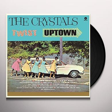 The Crystals TWIST UPTOWN Vinyl Record - Spain Import