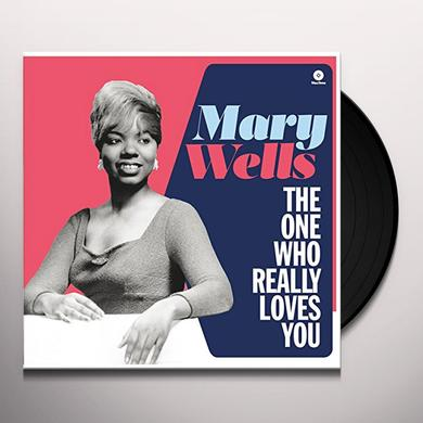 Mary Wells ONE WHO REALLY LOVES YOU Vinyl Record - Spain Import
