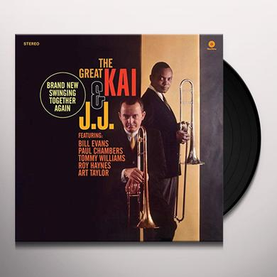 J. J. Johnson & Kai Winding GREAT KAI & J. J. Vinyl Record - Spain Import