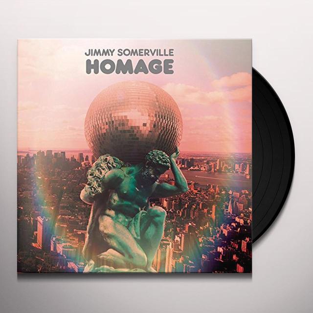 Jimmy Somerville HOMAGE (FRA) Vinyl Record