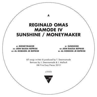 Reginald Mamode Iv Omas SUNSHINE / MONEYMAKER Vinyl Record - UK Release