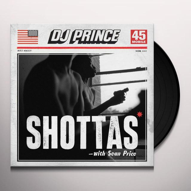 Dj Prince / Sean Price SHOTTAS Vinyl Record