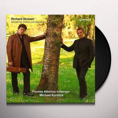 STRAUSS / IRNBERGER / KORSTICK VIOLIN SONATA OP. 18 Vinyl Record