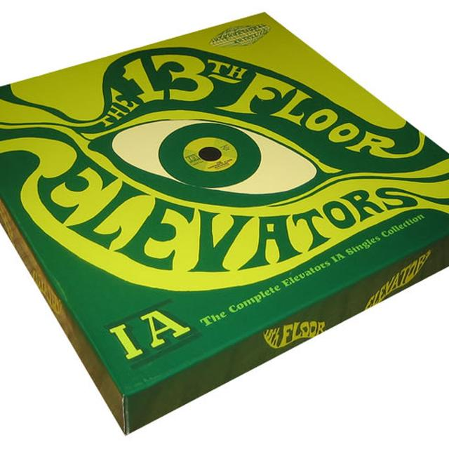 COMPLETE 13TH FLOOR ELEVATORS IA SINGLES (BOX) Vinyl Record