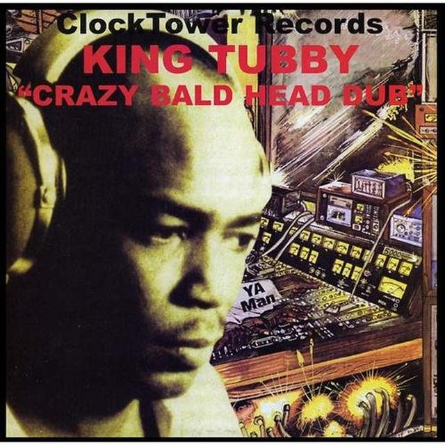 King Tubby CRAZY BALD HEAD DUB Vinyl Record
