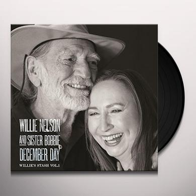 Willie Nelson DECEMBER DAY Vinyl Record - Holland Import