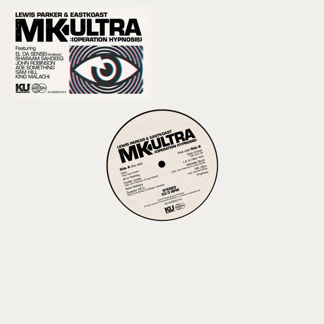 Lewis Parker & Eastkoast MK ULTRA: OPERATION HYPNOSIS Vinyl Record - UK Import