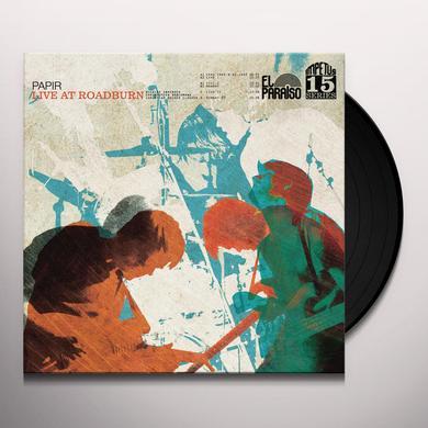 Papir LIVE AT ROADBURN Vinyl Record - UK Release