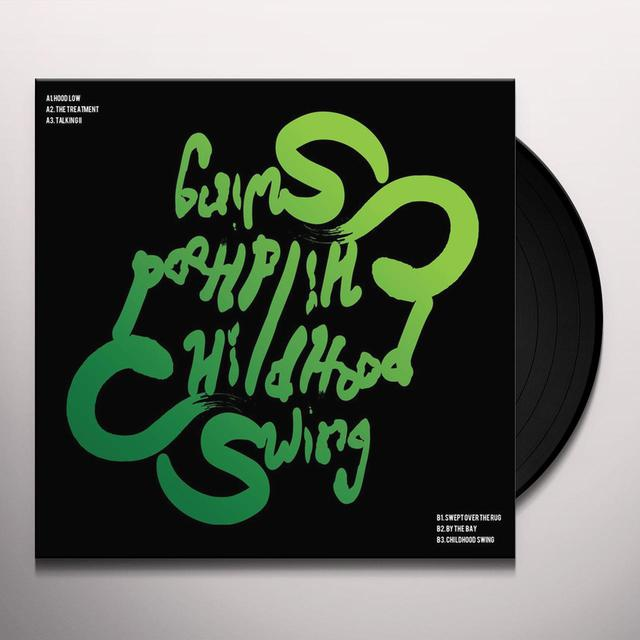 TAIRIQ & GARFIELD CHILDHOOD SWING Vinyl Record