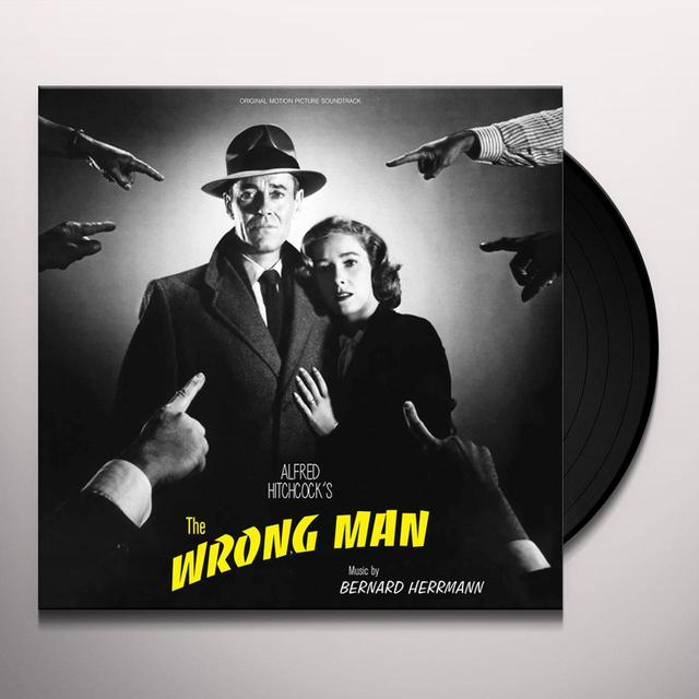 WRONG MAN / O.S.T. (ITA) WRONG MAN / O.S.T. Vinyl Record - Italy Release