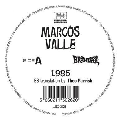 Marcos Vale 1985 / PREFIXO-THEO PARRISH & DAZ I KUE REMIXES Vinyl Record