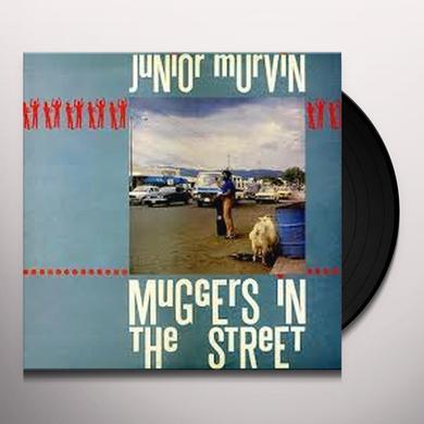 Junior Murvin MUGGERS IN THE STREET Vinyl Record - UK Release