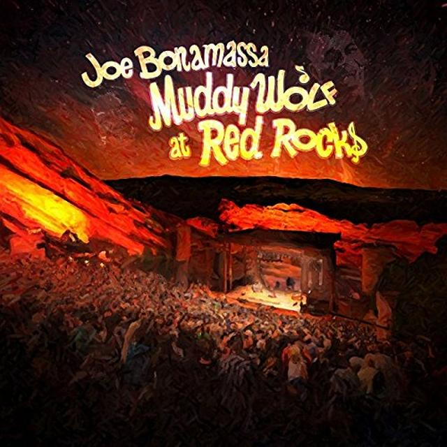 Joe Bonamassa MUDDY WOLF AT RED ROCKS Vinyl Record