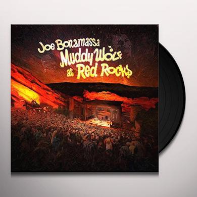 Joe Bonamassa MUDDY WOLF AT RED ROCKS Vinyl Record - UK Import