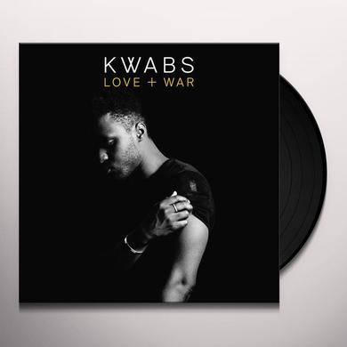 Kwabs LOVE + WAR Vinyl Record