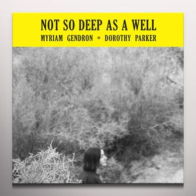 Myriam Gendron NOT SO DEEP AS A WELL Vinyl Record - Colored Vinyl