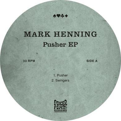 Mark Henning PUSHER Vinyl Record