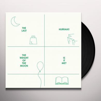 The Last Hurrah!! WEIGHT OF THE MOON / IS IT ME (EP) Vinyl Record