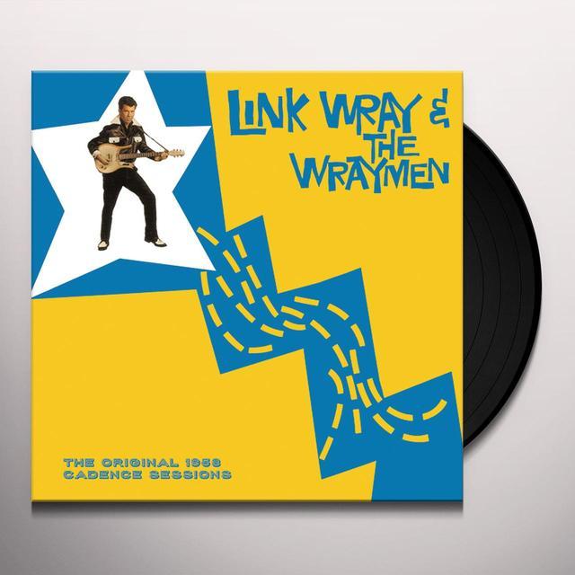 Link Wray & The Wraymen ORIGINAL 1958 CADENCE SESSIONS Vinyl Record