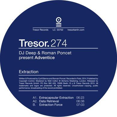 DJ DEEP & ROMAN PONCET EXTRACTION Vinyl Record