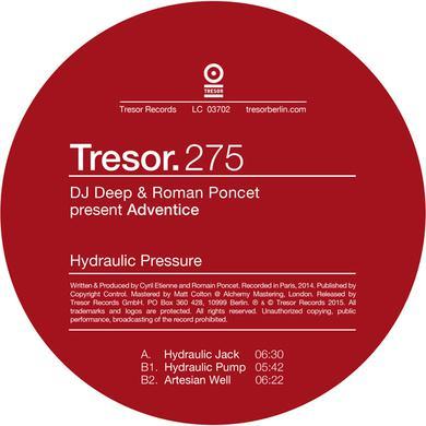 DJ DEEP & ROMAN PONCET HYDRAULIC PRESSURE Vinyl Record