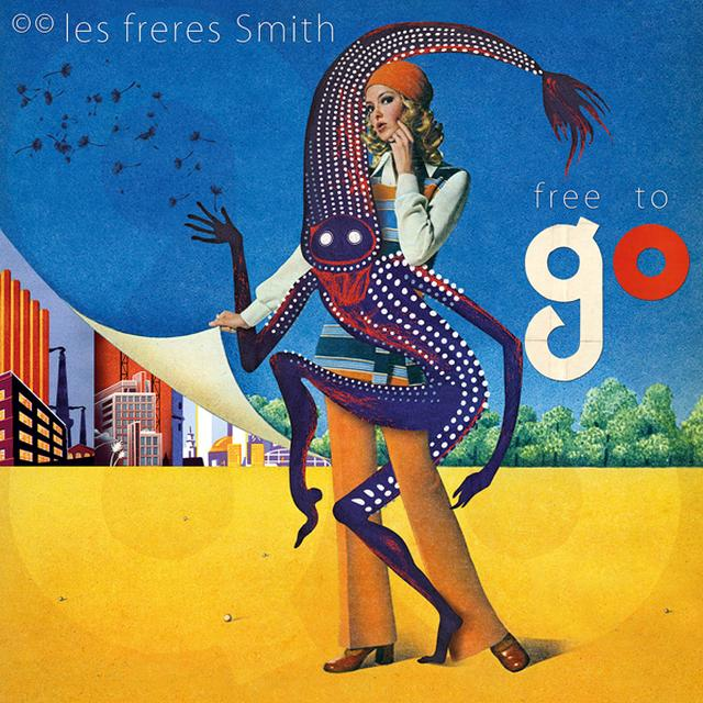 LES FRERES SMITH FREE TO GO Vinyl Record