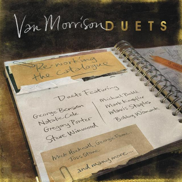 Van Morrison DUETS: RE-WORKING THE CATALOGUE Vinyl Record - Gatefold Sleeve
