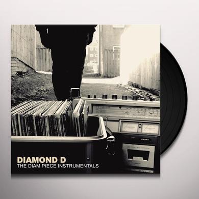 DIAMOND D DIAM PIECE INSTRUMENTALS Vinyl Record