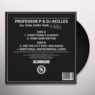 PROFESSOR P & DJ AKILLES ALL YEAR EVERY YEAR: WINTER Vinyl Record
