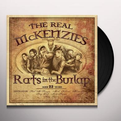 The Real McKenzies RATS IN THE BURLAP Vinyl Record