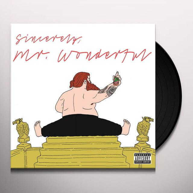 Action Bronson MR WONDERFUL Vinyl Record
