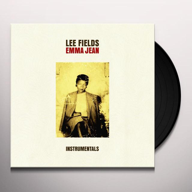 Lee Fields & The Expressions EMMA JEAN (INSTRUMENTALS) Vinyl Record