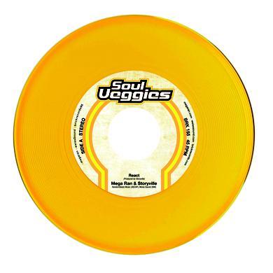 MEGA RAN & STORYVILLE REACT Vinyl Record