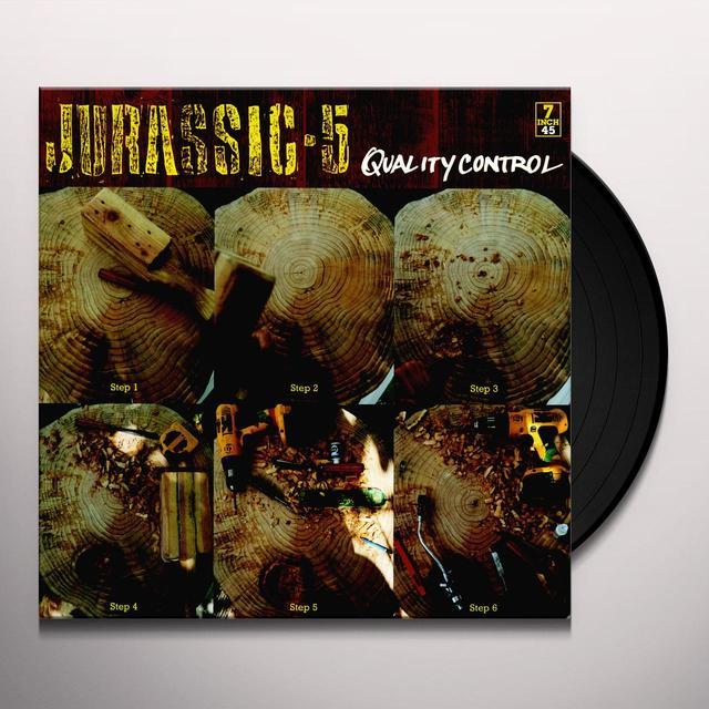 Jurassic 5 QUALITY CONTROL / JARASS FINISH FIRST Vinyl Record