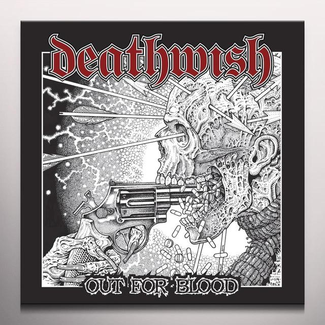 DEATHWISH OUT FOR BLOOD Vinyl Record - Limited Edition, Red Vinyl