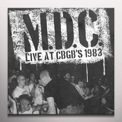 Mdc LIVE AT CBGB'S 1983 Vinyl Record