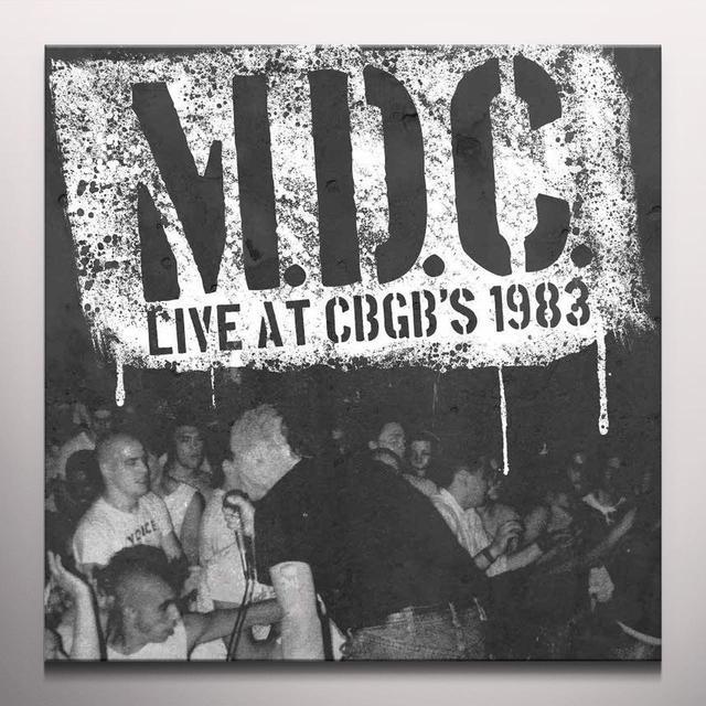 M.D.C. LIVE AT CBGB'S 1983 Vinyl Record - Green Vinyl, Limited Edition, Remastered