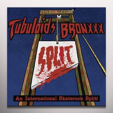 BRONXXX / TUBULOIDS AN INTERNATIONAL SKATEROCK Vinyl Record - Gold Vinyl, Limited Edition