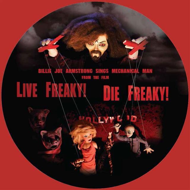 Billie Joe Armstrong / Travis Barker / Wiedlin LIVE FREAKY DIE FREAKY Vinyl Record