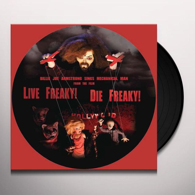 Billie Joe Armstrong / Travis Barker / Wiedlin LIVE FREAKY DIE FREAKY Vinyl Record - Limited Edition, Picture Disc