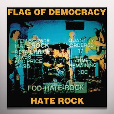 Flag Of Democracy HATE ROCK Vinyl Record - Limited Edition, Orange Vinyl