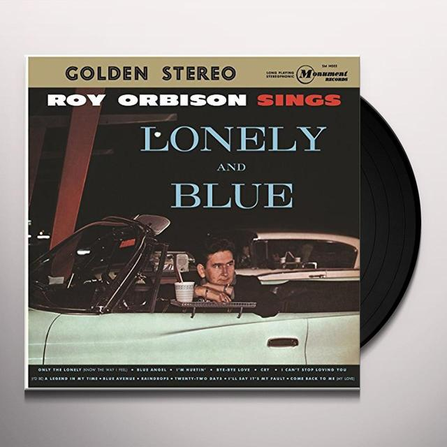 Roy Orbison LONELY & BLUE Vinyl Record - Holland Import