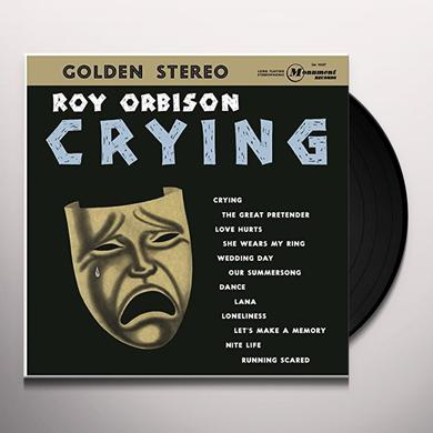 Roy Orbison CRYING Vinyl Record - Holland Release