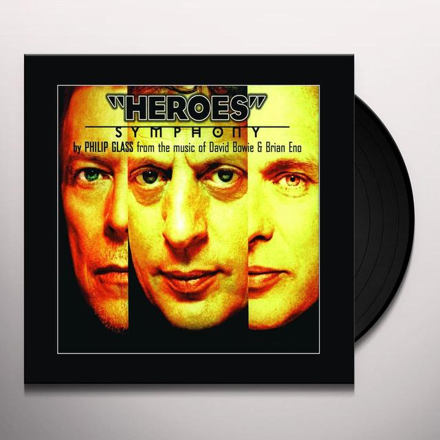Philip Glass HEROES SYMPHONY Vinyl Record - Holland Import