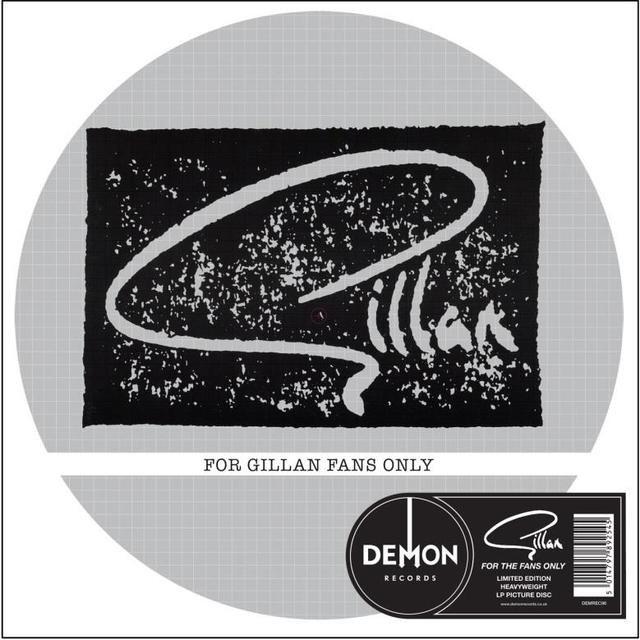 FOR GILLAN FANS ONLY-PICTURE DISC Vinyl Record - Picture Disc, UK Import