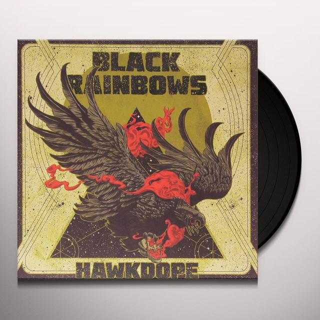 BLACK RAINBOWS HAWKDOPE: LIMITED EDITION Vinyl Record - Limited Edition, Italy Import