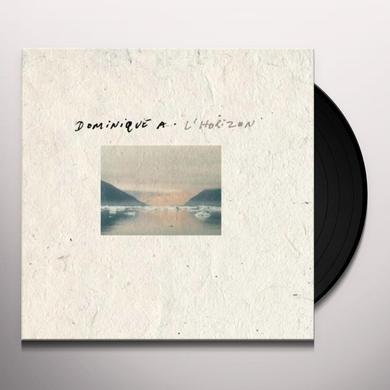Dominique A L'HORIZON Vinyl Record - Canada Import